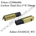 AS1000 AS2000X Triton Carbon Brushes  22006680